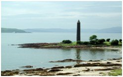 Pencil Monument at Largs